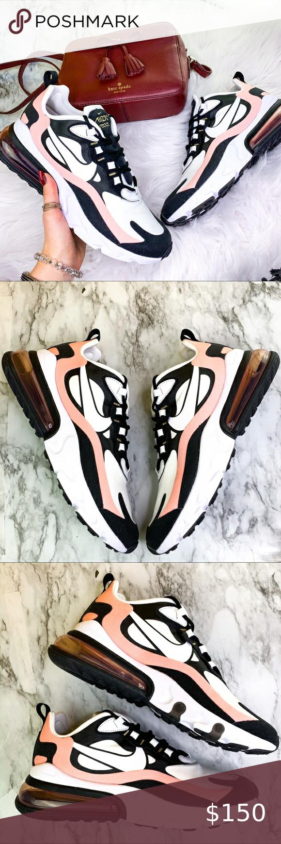 Nike Air Max 270 React Pink/White Sneaker in 2020 Nike