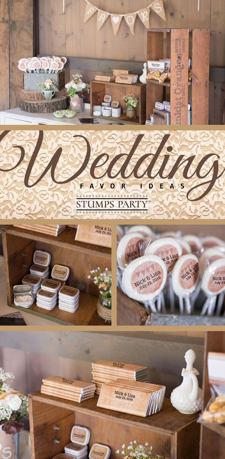 Celebrate The Sweet Romance Of Your Love With A Rustic Wedding Theme At Shop All Our Favors