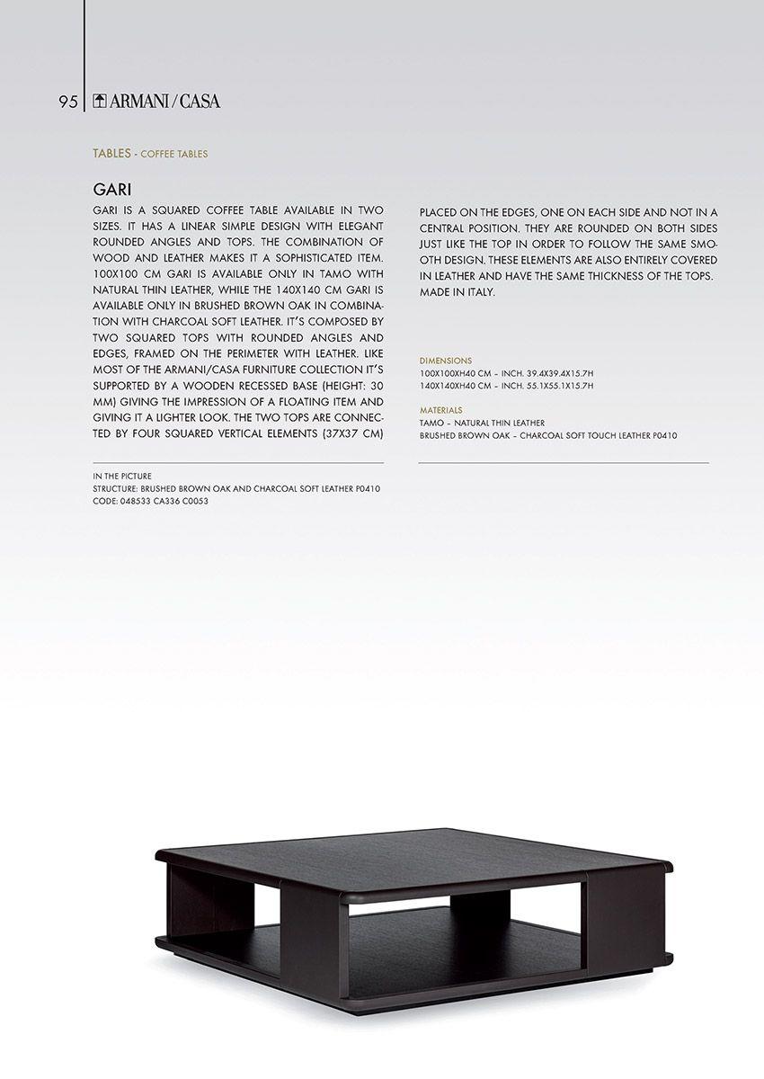 Tables Armani Casa Table Center Table Table Desk
