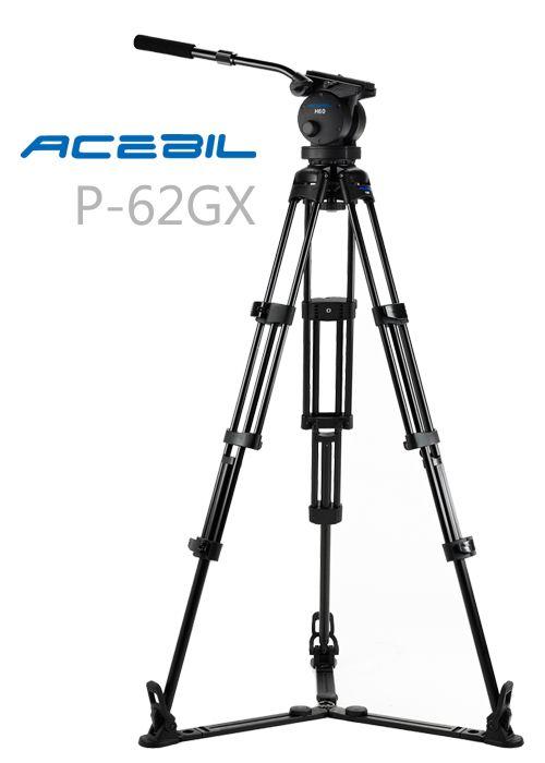 Acebil P 62gx Tripod System Acebil Professional Eng P Series