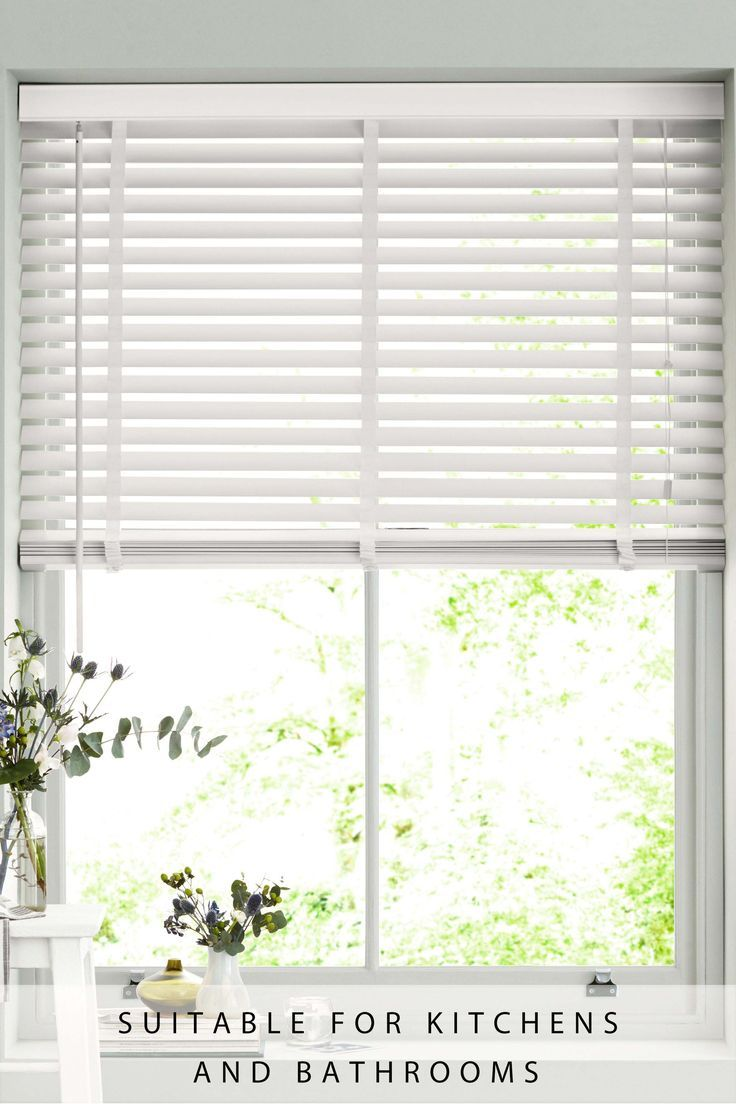 Next 50mm Slat Venetian Blind White Worldefashion Com Decor Venetian Blinds White Venetian Blinds Vertical Blinds Makeover