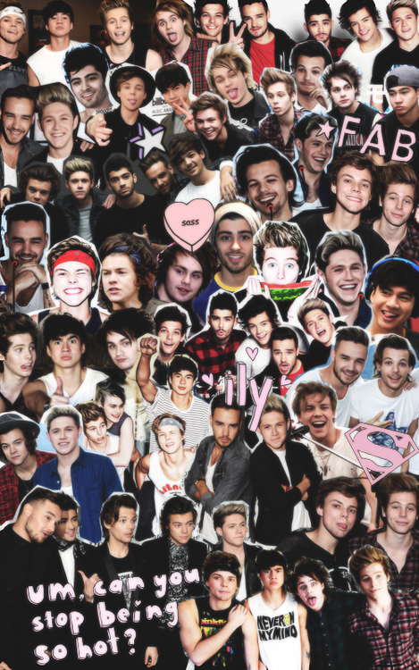 One Direction Tumblr Collage 2017