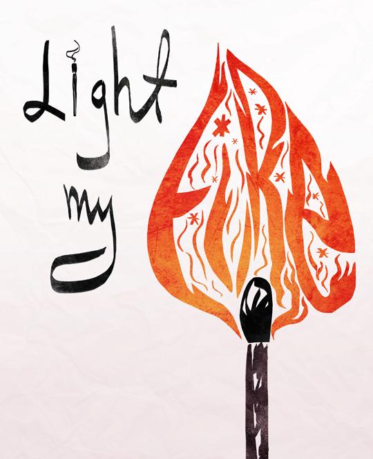 Light My Fire The Doors Light My Fire Jim Morrison Arabic Calligraphy