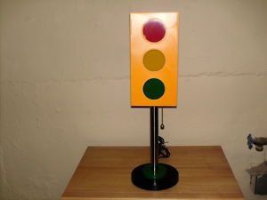 Traffic Light Desk Lamp Excellent Used Cond Lamp Desk Lamp Lamp Light