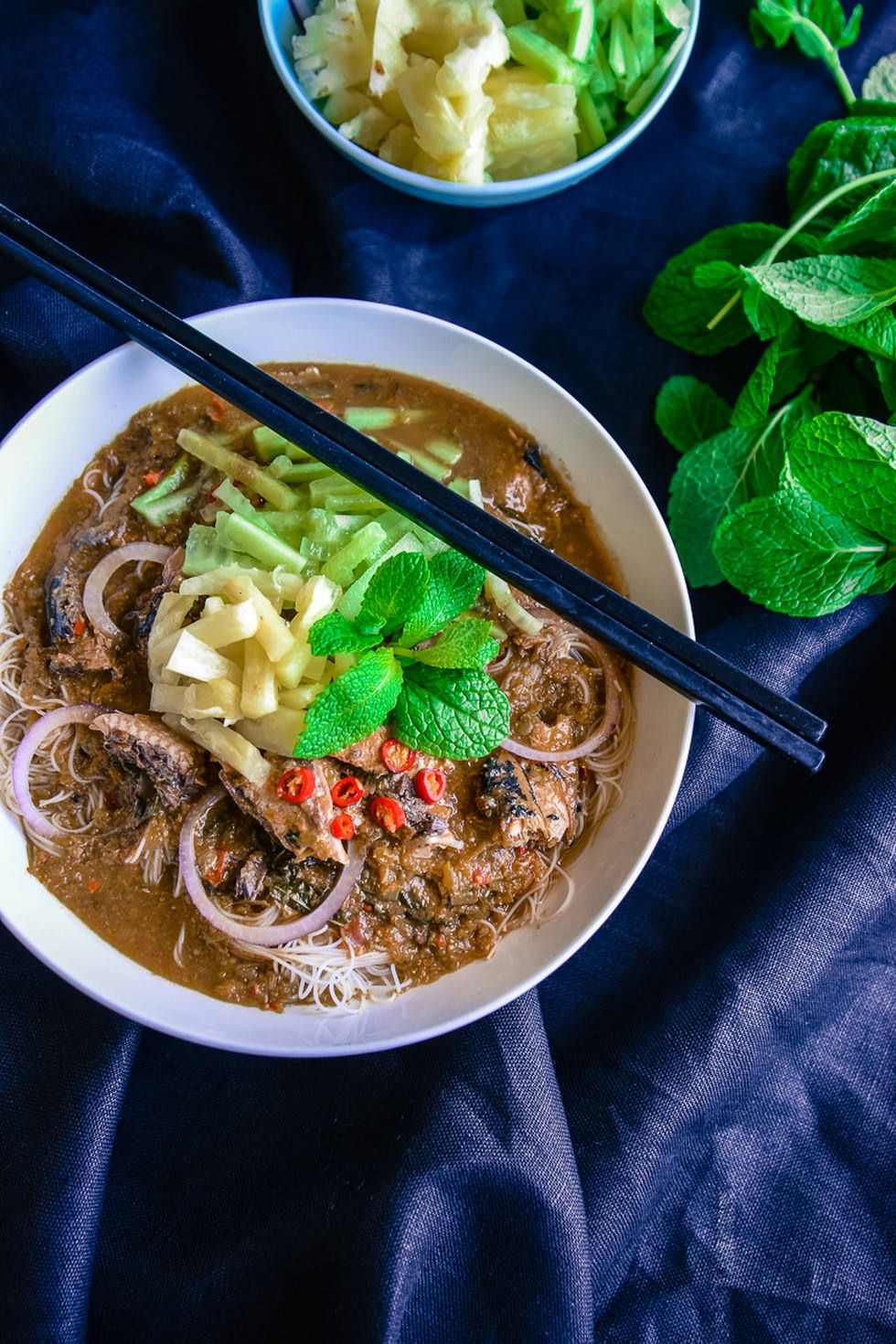 Penang Assam Laksa for Father's Day Food, Evening meals