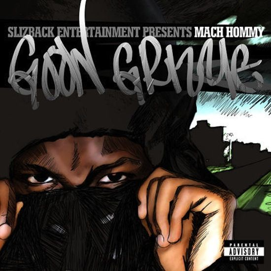 Jersey emcee, Mach Hommy, shoots a gem at you titled Monster from