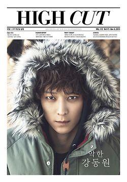 Kang Dong Won - High Cut Magazine Vol.112
