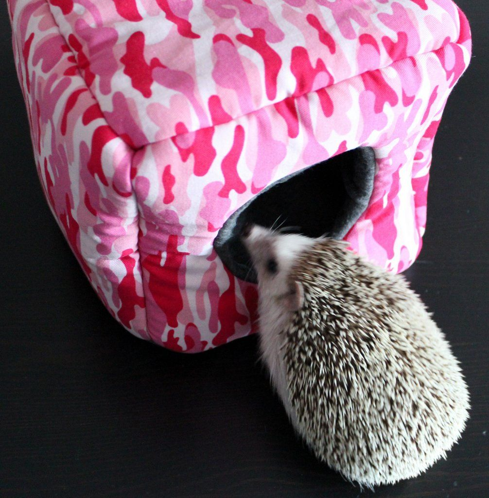 Pink Camouflage Cosy Cube House Small Pet Home Hidey For Hamster Hedgehog Rat Small Animal Bedding Flee Small Animal Bedding Pink Camouflage Small Pets