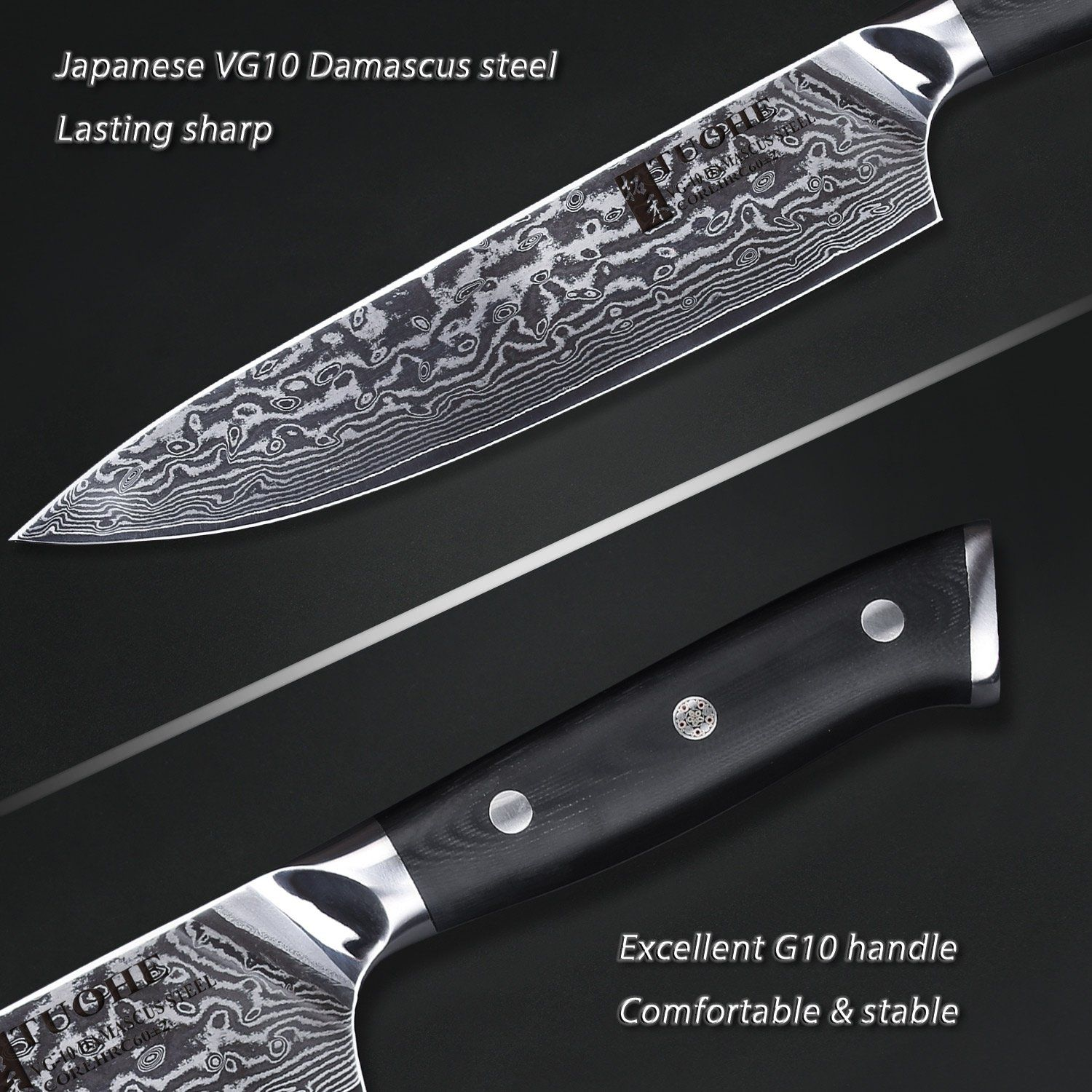 Pin On Buy Damascus Kitchen Knife Chef Knife Online In Usa And Canada