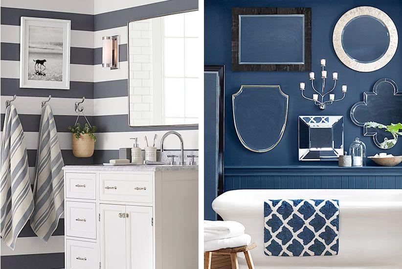 7 Cute & Easy Bathroom Wall Art Ideas   condo Half Bath   Pinterest ...