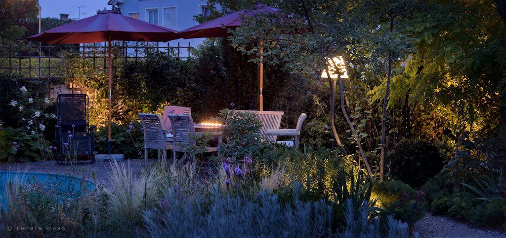 Romantischer Garten Mit Beleuchtung | Licht | Pinterest | Garten Ein Romantischer Garten