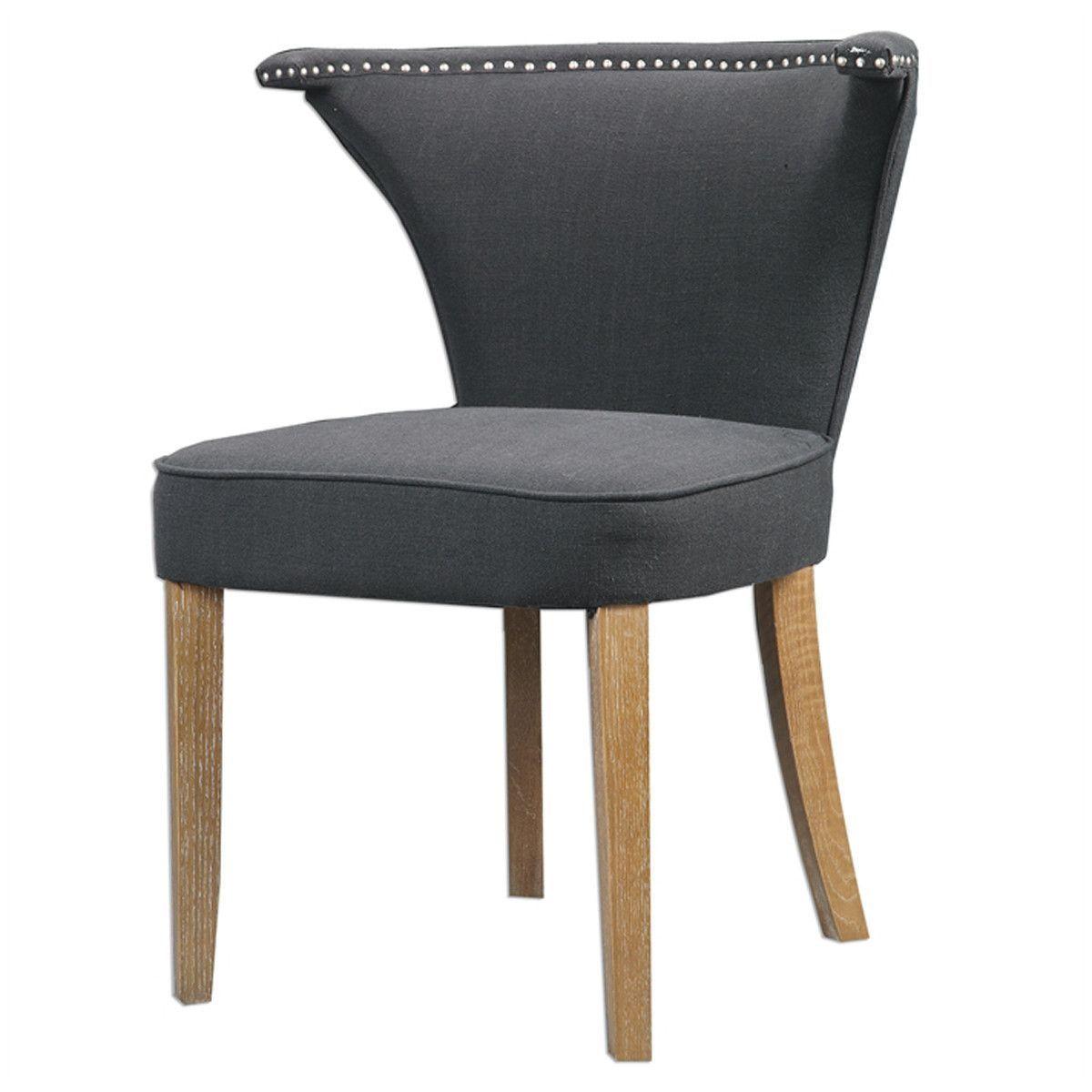 Best Dasen Dark Gray Accent Chair Grey Accent Chair Accent 400 x 300