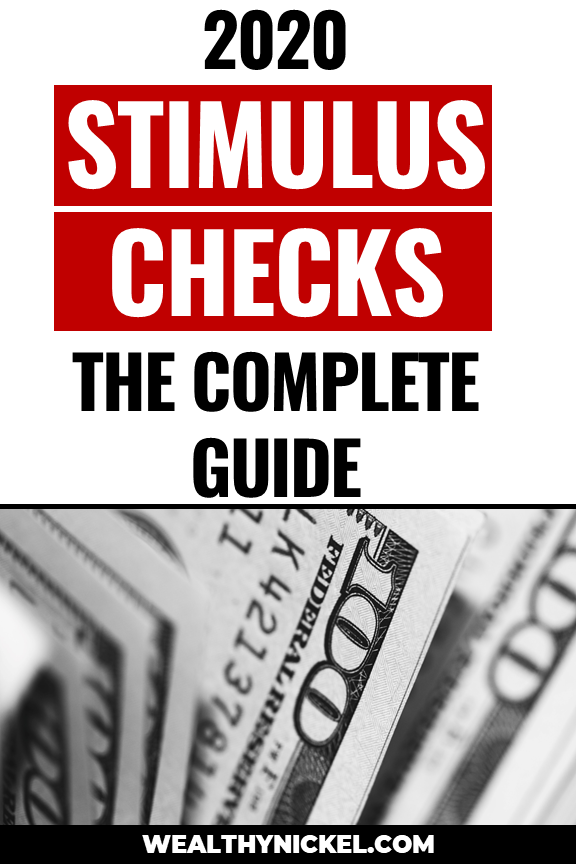 Stimulus Check 2020 Everything You Need To Know Personal Finance Earn Extra Money Online Finance