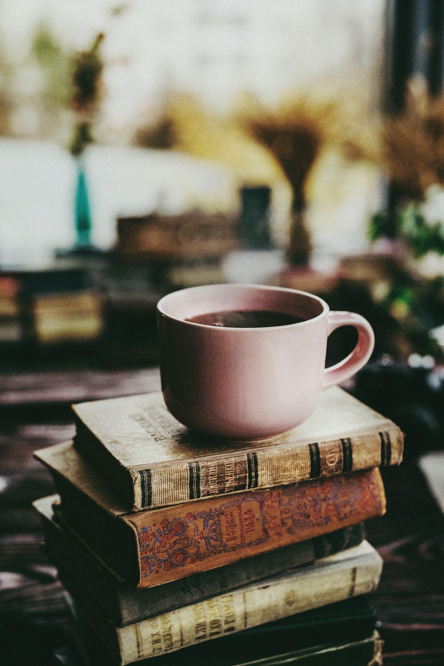 красивые картинки книги с чаем мнению