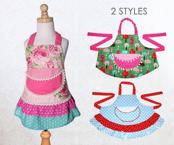 Apron pattern, Apron Sewing Pattern, Kids Apron Pattern, Child Apron Pattern, Easy Apron Pattern, Girls Apron Pattern, PDF Pattern, APRON #dressesfromthesouthernbelleera