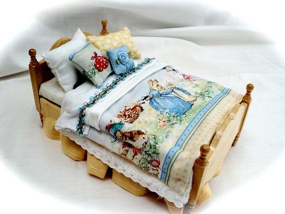 Mini beatrix potter bed