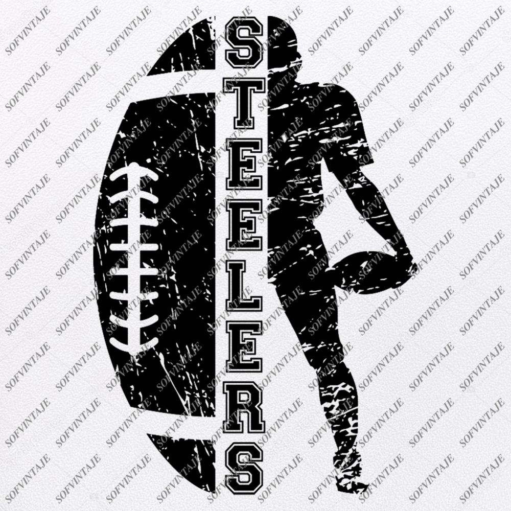 American Football Svg File Pittsburgh Steelers Svg