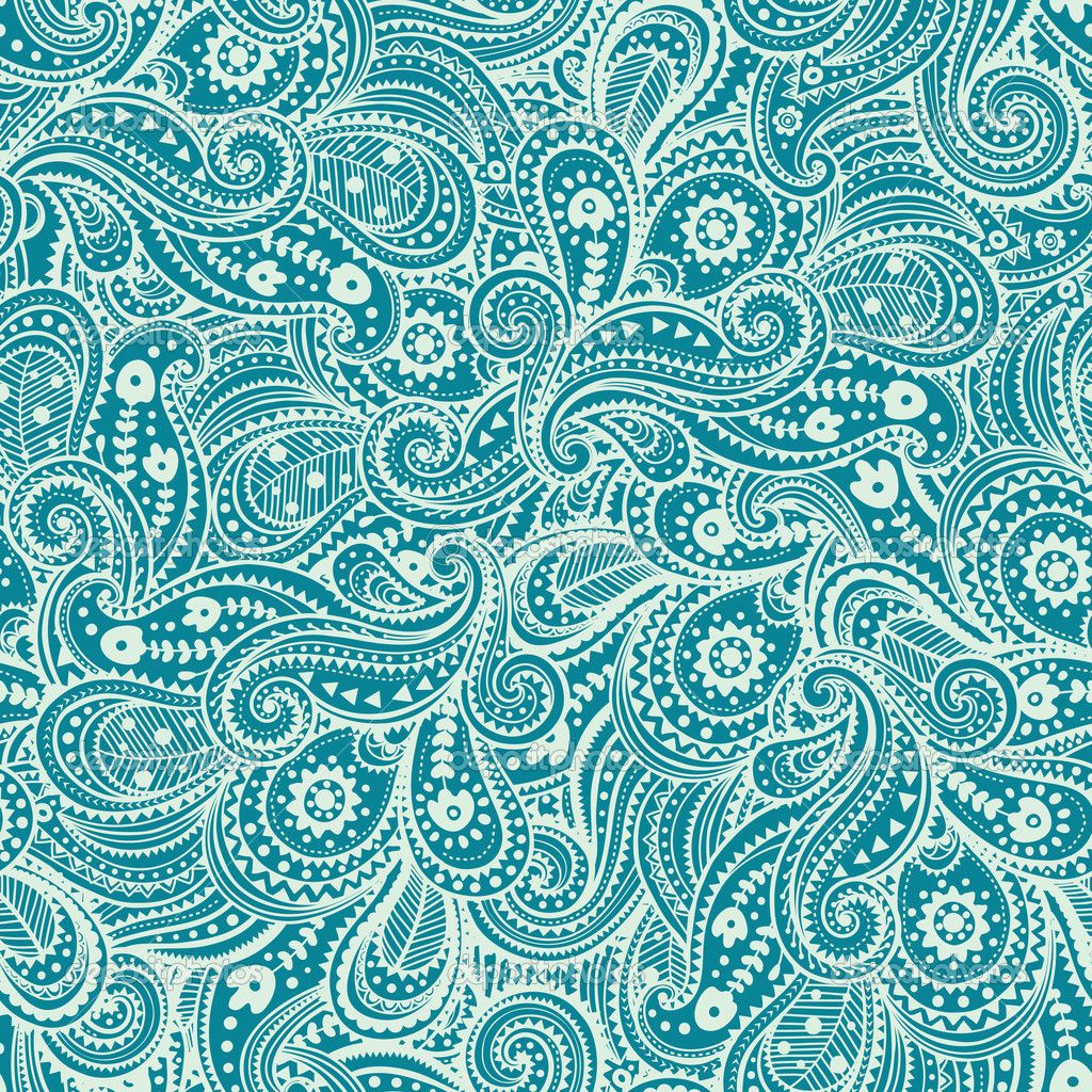 Paisley Pattern Popular During This Time Victorian