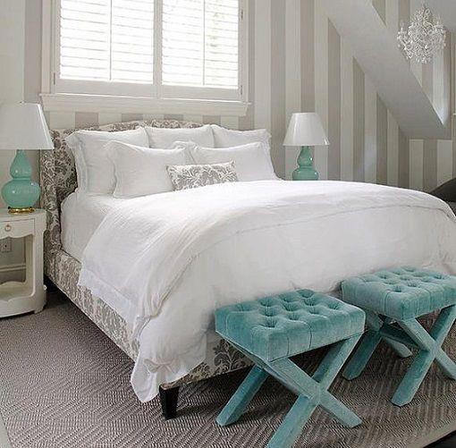 Habitaciones De Ensueño Dormitorios Decoracion De: Papel Pintado En El Dormitorio