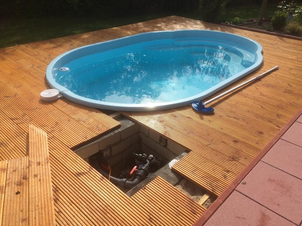 Basen Ogrodowy Poliestrowy Gotowy Baseny Kapielowe Pool Garden Pool Hot Tub