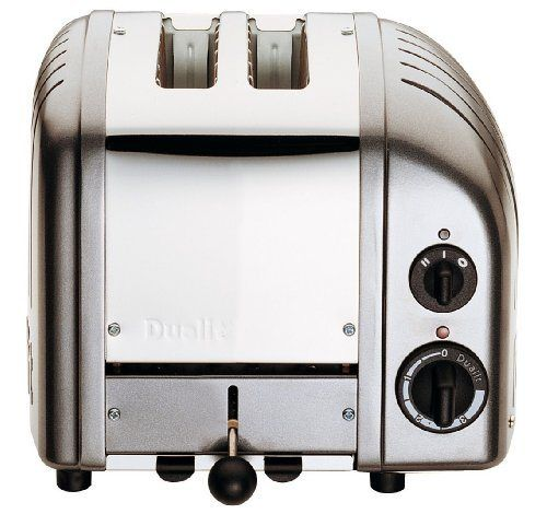 Dualit Classic 2-Slice Toaster, Charcoal - http://sleepychef.com/dualit-classic-2-slice-toaster-charcoal/
