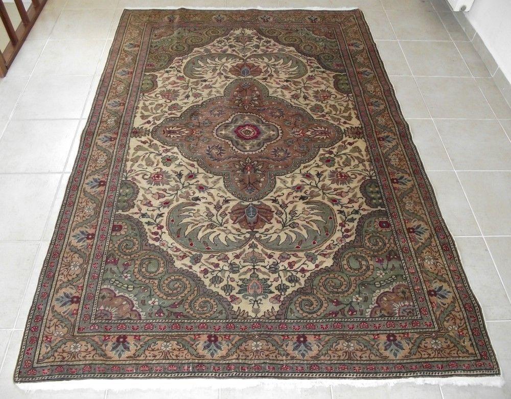 Turkish Kayseri Kilim Rug, Wool Vintage Rug, 59''x85