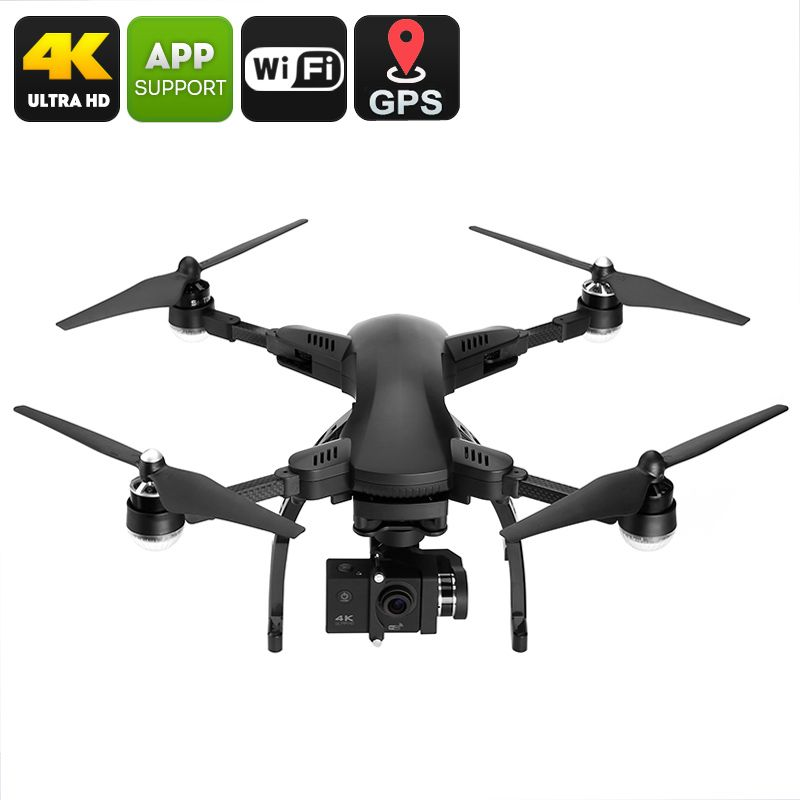 Simtoo Dragonfly Drone Is An Amazing Folding Quadcopter That Comes With 4K Camera And Gimbal As