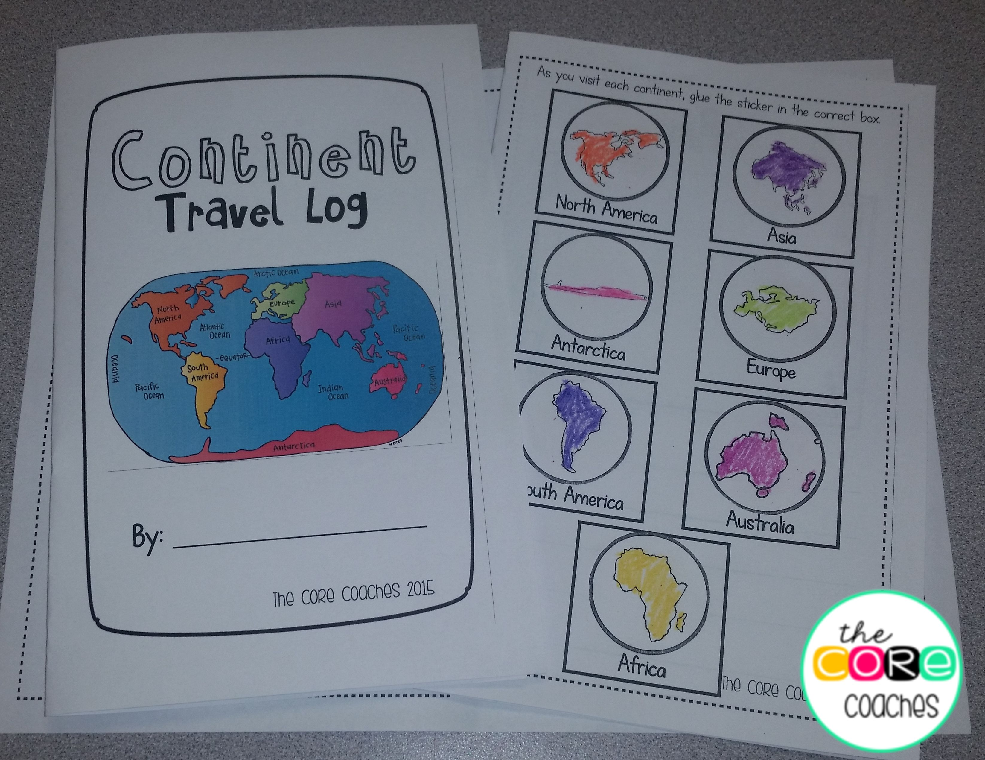 How Do You Teach 1st Graders About The Continents