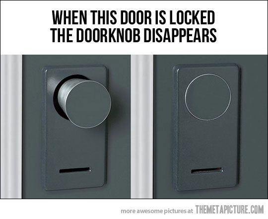 The Doorknob Condition Keeps Unwanted Guests From Entering | Doors ...