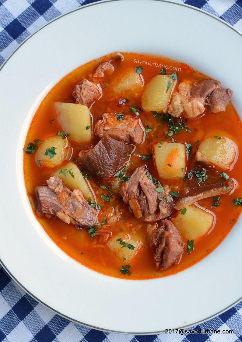 Ciorba De Cartofi Cu Afumatura Reteta Ardeleneasca Savori Urbane Recipe Traditional Food Recipes Amazing Food