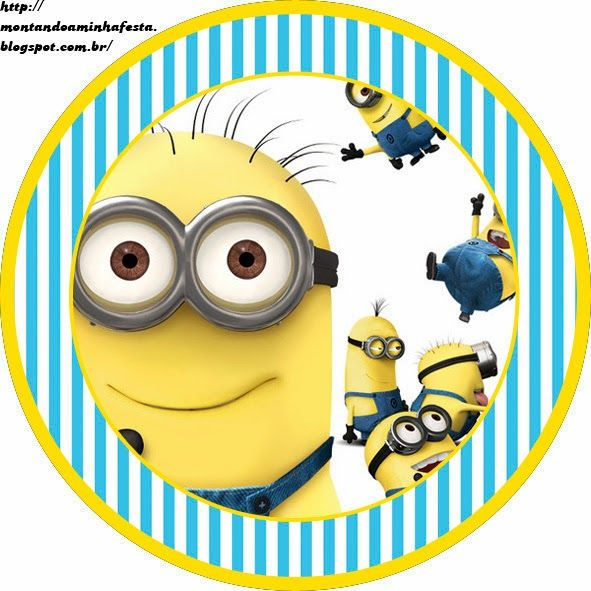 Despicable Me Free Printable Candy Bar Labels Oh My Fiesta In English Minion Party Theme Minion Theme Minion Party
