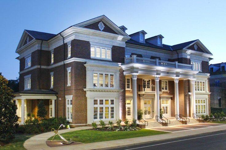 The University Of Alabama Sorority House Alabama Sorority Houses Houses In America