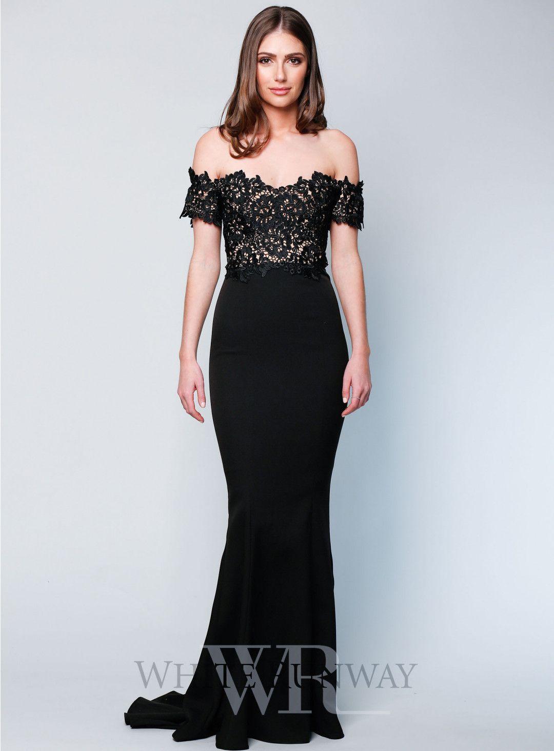 Monroe dress in black bridesmaids pinterest dresses