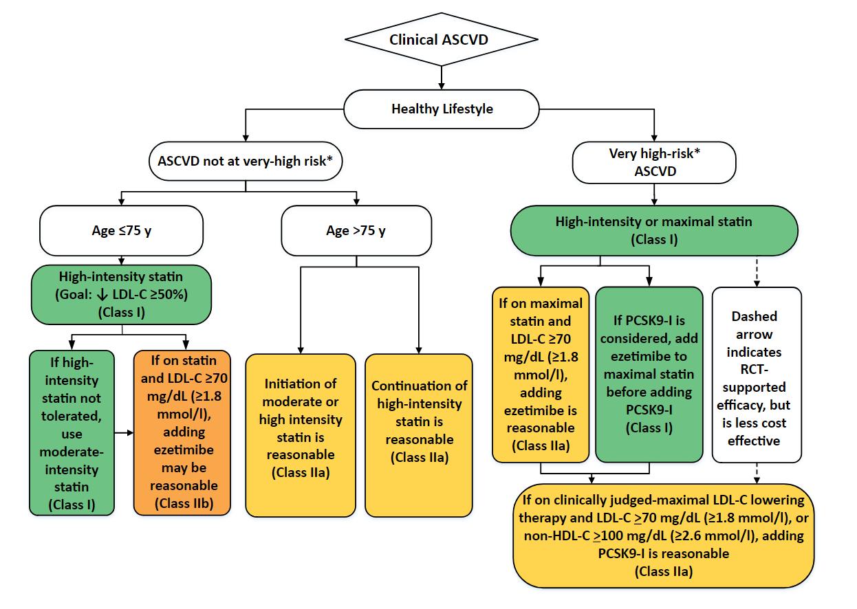 ASCVD Risk Estimator + Statin, Treatment plan