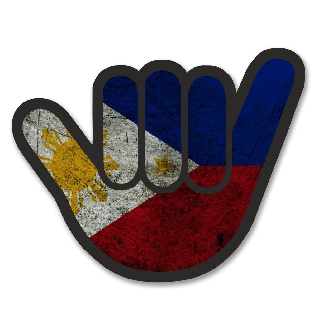 2 X Philippines Flag Shocker Vinyl Sticker 6182 Vinyl Stickers Laptop Print Vinyl Stickers Philippine Flag [ 1024 x 1024 Pixel ]