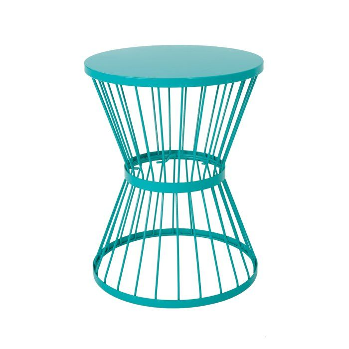 Patio Side Table, Metal Patio End Tables