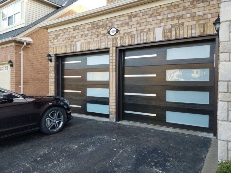 51 Stylish Modern Garage Door Design in 2020 (With images