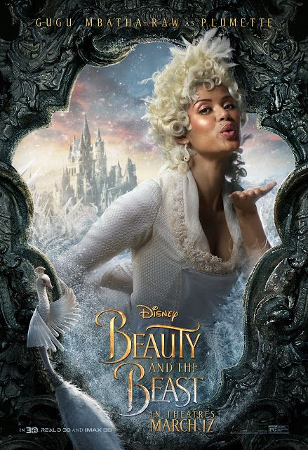 Beauty And The Beast Character Poster Plumette Beauty And The Beast Movie Beauty And The Beast The Beast Movie