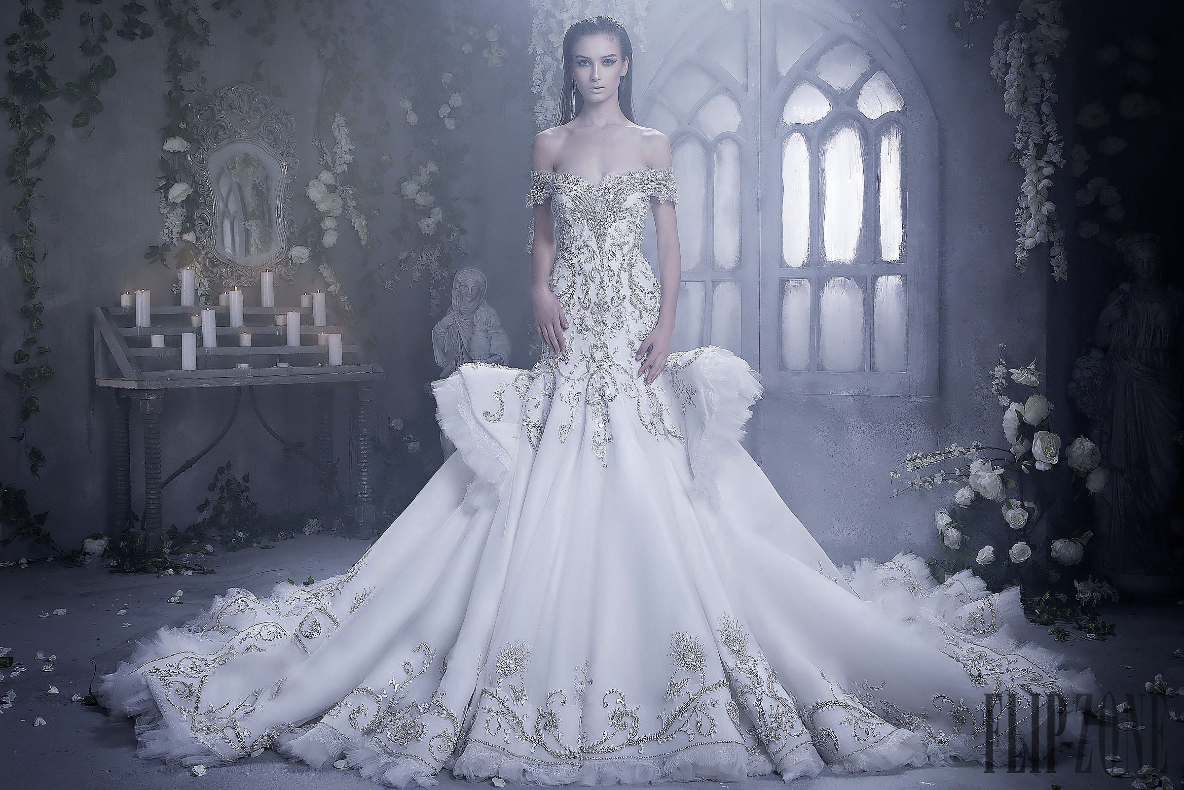 60s wedding dress  Dar Sara Fallwinter   Bridal Collection  Wedding Gowns