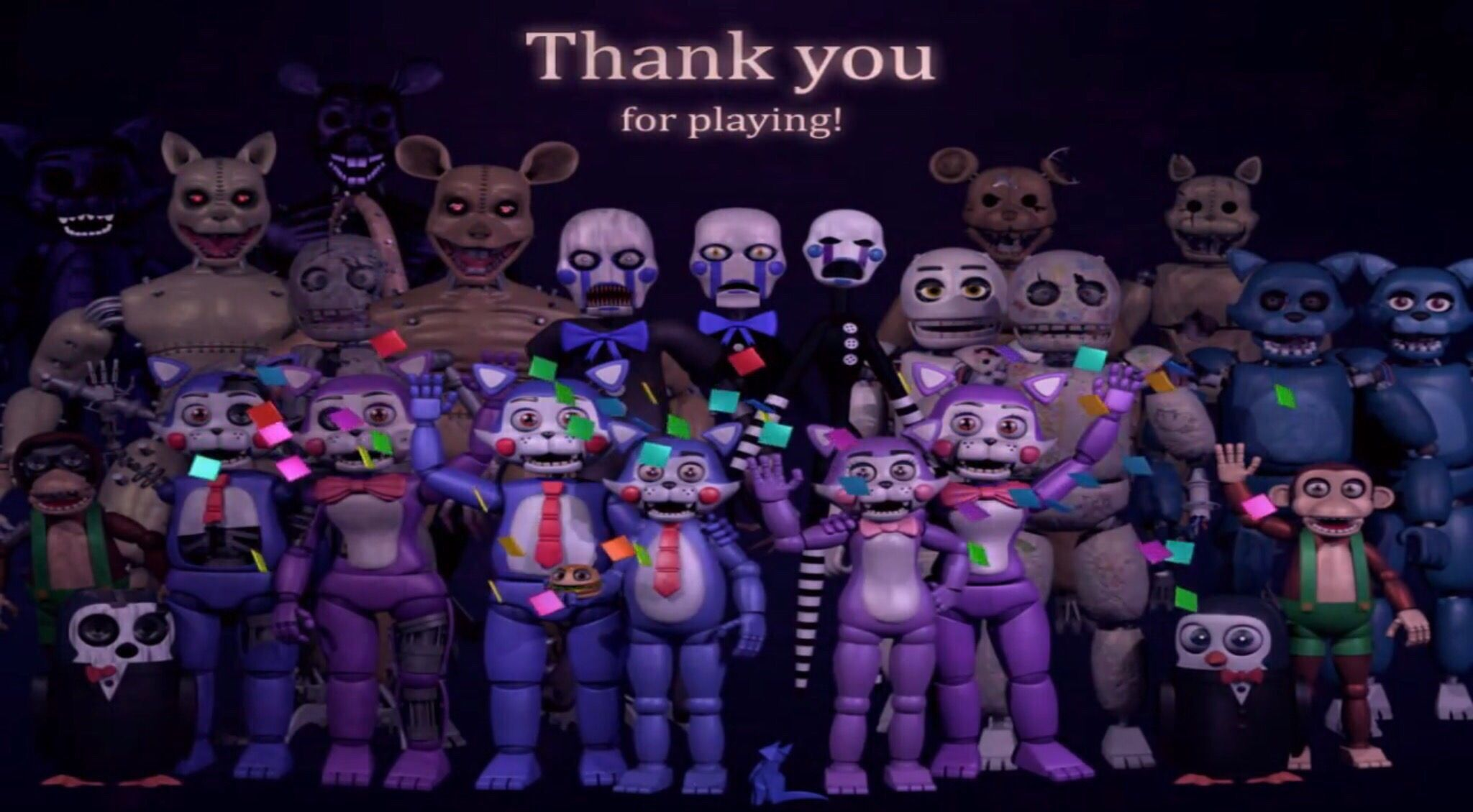 Fnac Thank You Image Five Night Fnaf Wallpapers Iphone