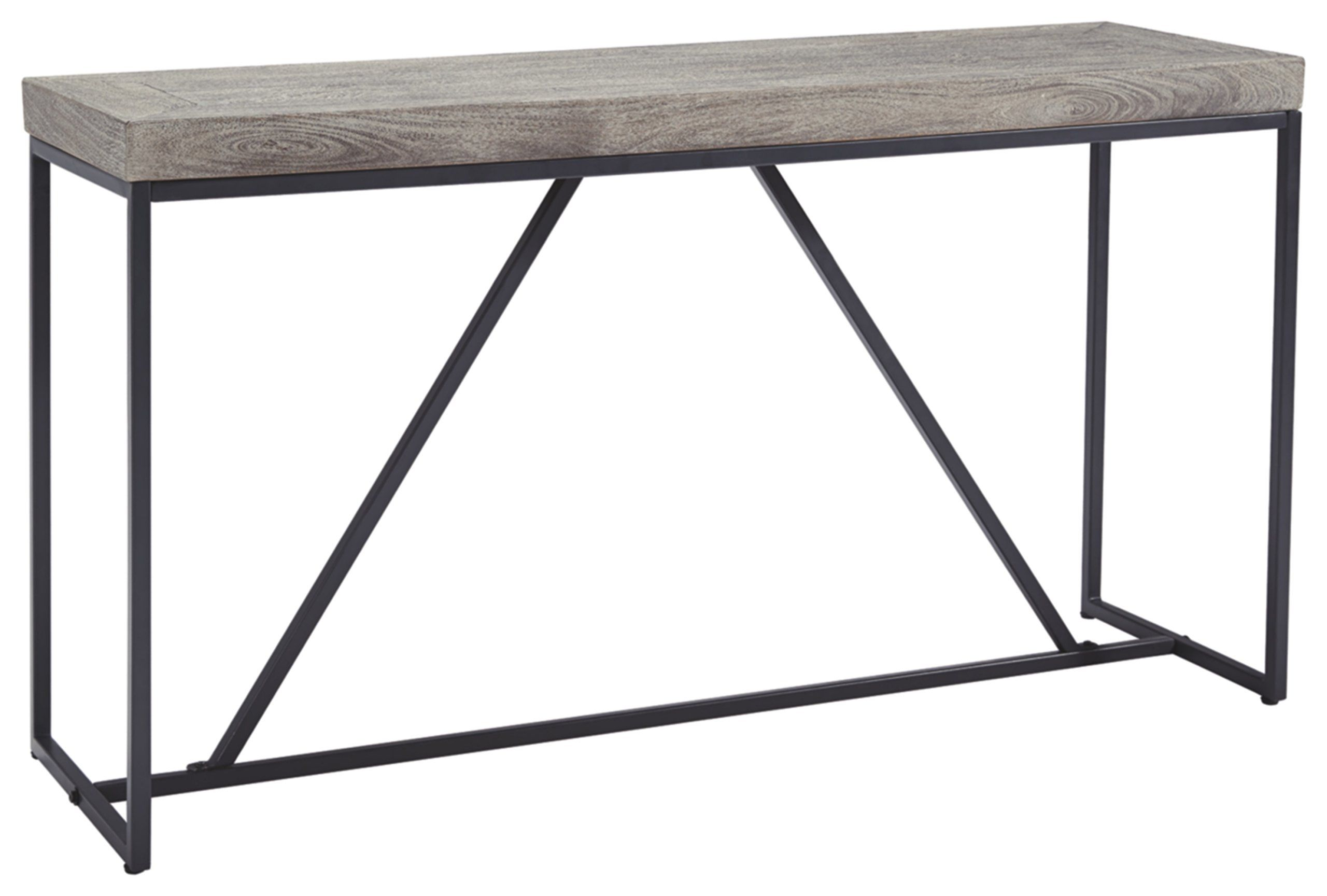 Ashley Furniture Signature Design Brazin Casual Sofa Or Console Table Gray You Can Find More Details By Diy Sofa Table Simple Sofa Table Ashley Furniture