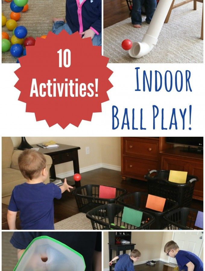10 Ball Games for Kids – Ideas for Active Play Indoors! | Fun and ...
