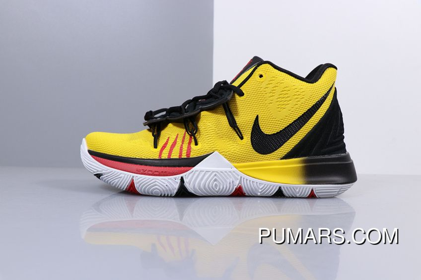 Men Shoes Air Zoom Turbo Zoom Nike Kyrie 5 Irving 5 Battle Basketball Shoes Yellow Black Ao2918 478 Discount Price 96 85 Puma Shoes Outlet Buy Cheap Puma Mens Puma Shoes Nike Kyrie Basketball Shoes