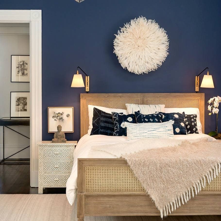 Accent wall paint ideas bedroom  Pin by Simran Kanungo on furniture  Pinterest  Bedrooms Master