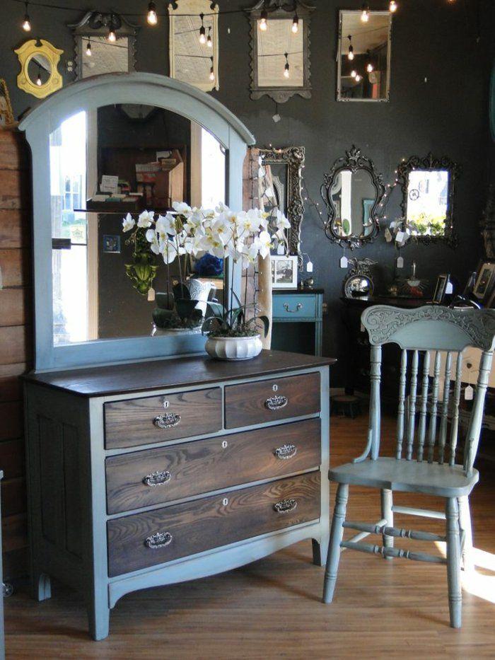 Comment repeindre un meuble? Une nouvelle apparence! Furniture - meuble en bois repeint