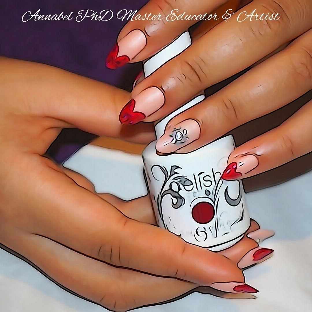 Quick & Easy Valentines Day Nail Art Step By Step