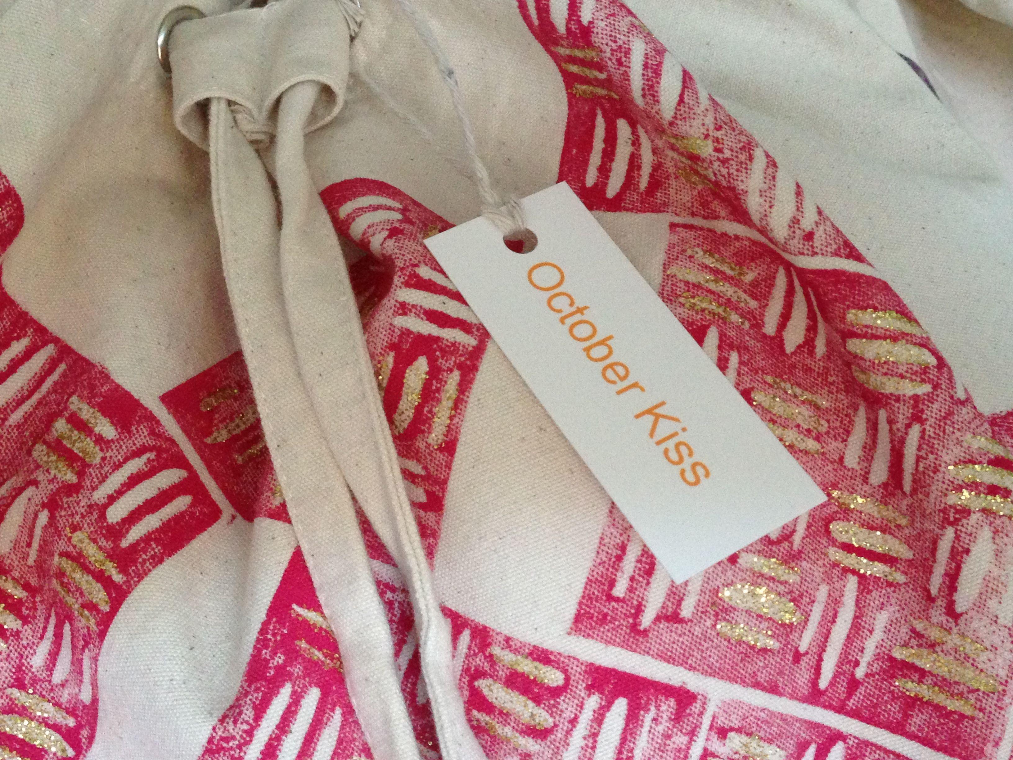 Mini tags make great product tags- October Kiss