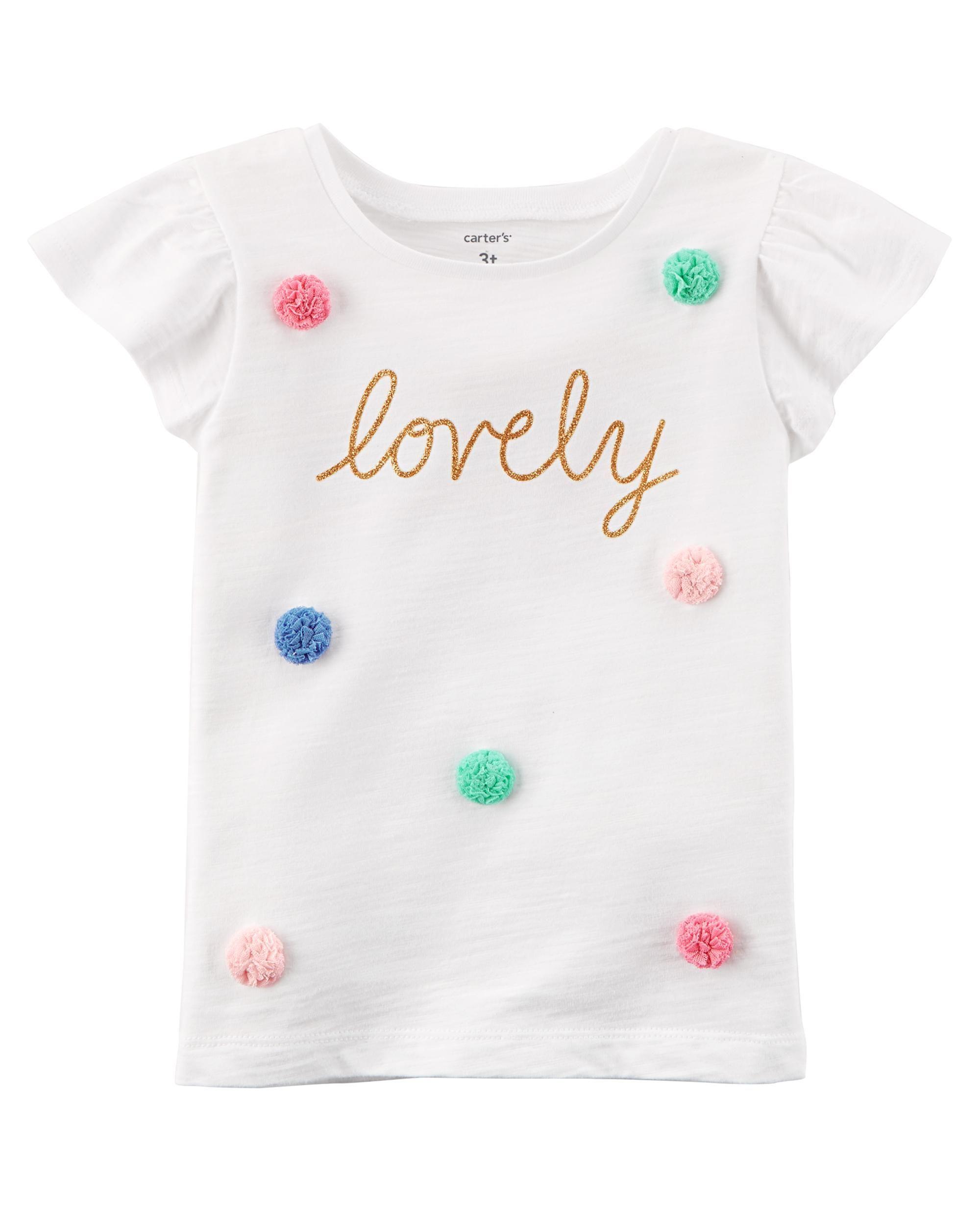 Lovely Flutter Tee Ropa Para Niñas Ropa Infantil Para Niña Ropa De Niña