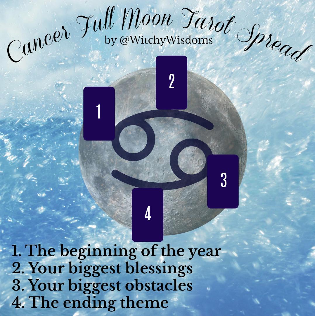 Cancer Moons Tarot