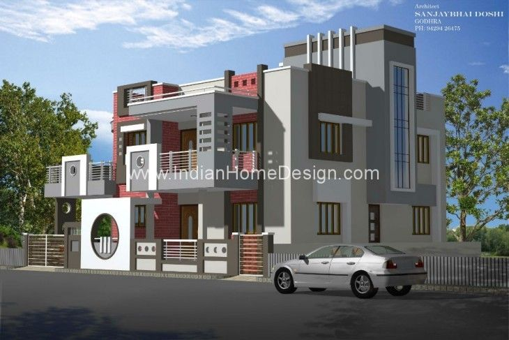 6 Bhk Home Design Part - 35: 6 BHK Home Design From RACHANA ARCHITECT | Architects